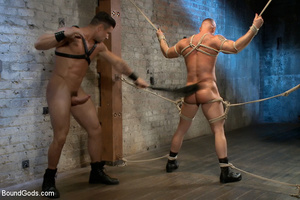 Hard man tied up, whipped, pinched and t - XXX Dessert - Picture 14