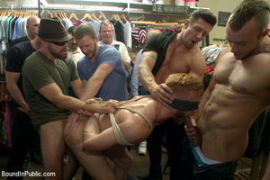 Hot stud gets defiled by horny cocks in  - XXX Dessert - Picture 8