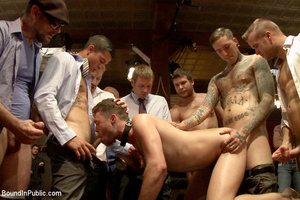 Slutty gay guy gets fucked and fisted in - XXX Dessert - Picture 5