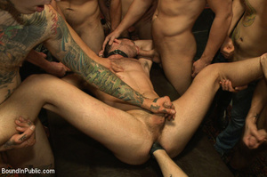 Slutty gay guy gets fucked and fisted in - XXX Dessert - Picture 13