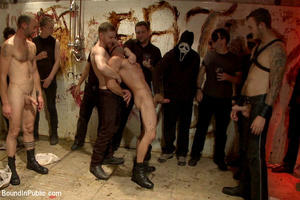 Gay guy sucks cock, gets fucked, whipped - XXX Dessert - Picture 1