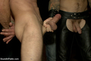 Gay guy sucks cock, gets fucked, whipped - XXX Dessert - Picture 2