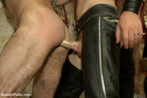 Gay guy sucks cock, gets fucked, whipped - XXX Dessert - Picture 6