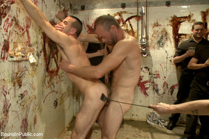 Gay guy sucks cock, gets fucked, whipped - XXX Dessert - Picture 7