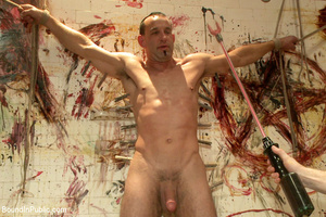 Gay guy sucks cock, gets fucked, whipped - XXX Dessert - Picture 10