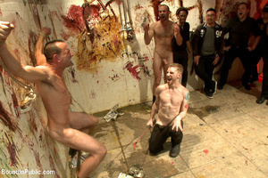 Gay guy sucks cock, gets fucked, whipped - XXX Dessert - Picture 11