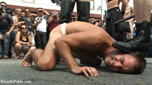 Public defilement as gay cock sucker get - XXX Dessert - Picture 3