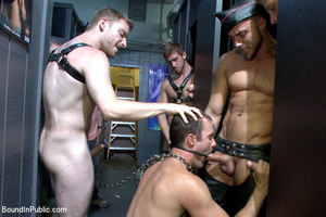 Public defilement as gay cock sucker get - XXX Dessert - Picture 9
