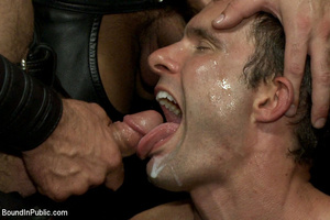 Public defilement as gay cock sucker get - XXX Dessert - Picture 14