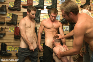 Gay guy used as pleasure tool as randy g - XXX Dessert - Picture 1