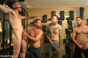 Gay guy used as pleasure tool as randy g - XXX Dessert - Picture 3