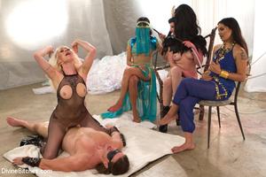 Slutty temptress and two guys in hot pus - XXX Dessert - Picture 7