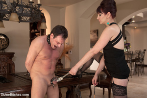 Hot girl controls over guy makes him wor - XXX Dessert - Picture 1