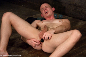 Hot butt machine pounding as dude gets s - XXX Dessert - Picture 3