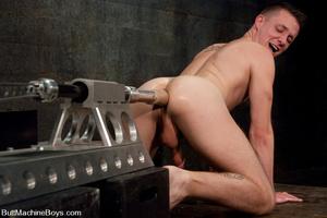 Hot butt machine pounding as dude gets s - XXX Dessert - Picture 11