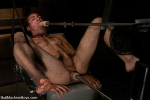 Randy cock sucker sucks machine dick bef - XXX Dessert - Picture 10