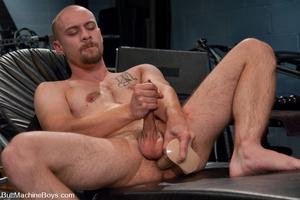 Slim gay stud fucks cock with big black  - XXX Dessert - Picture 6