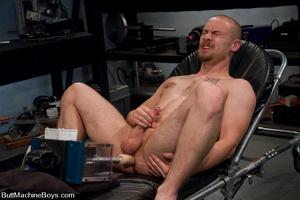 Slim gay stud fucks cock with big black  - XXX Dessert - Picture 11