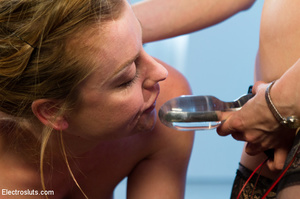 Two slutty girls are bound up, made to l - XXX Dessert - Picture 11