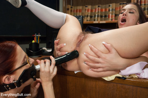 Two young sluts using strap-on cock, dil - XXX Dessert - Picture 7