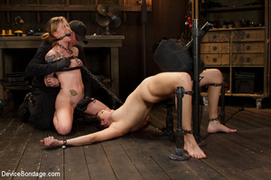 Two sexy babes moan in sweet pain as the - XXX Dessert - Picture 15