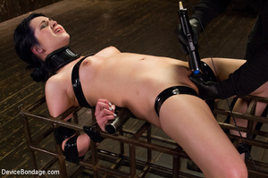 Hot strapping and bondage on device as p - XXX Dessert - Picture 3