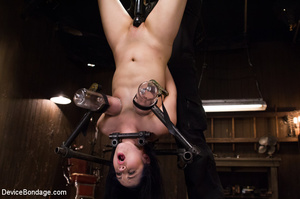 Hot strapping and bondage on device as p - XXX Dessert - Picture 11