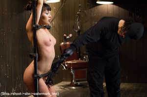 Chick gets bound and head placed in box  - XXX Dessert - Picture 9