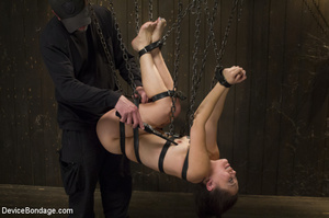 Hardcore device bondage as guy straps gi - XXX Dessert - Picture 10
