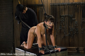 Chick gets bound and head placed in box  - XXX Dessert - Picture 11