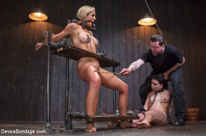 Hard guy dominated two chicks in brutal  - XXX Dessert - Picture 1