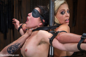 Hard guy dominated two chicks in brutal  - XXX Dessert - Picture 8