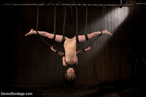 Harsh bondage and upside suspension and  - XXX Dessert - Picture 10