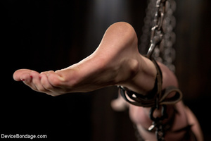 Harsh bondage and upside suspension and  - XXX Dessert - Picture 11