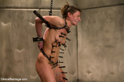 brunette bound and chained