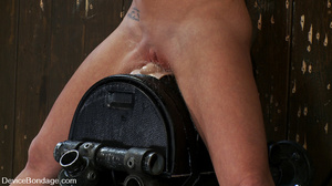 Cute big tits chick is chained and suspe - XXX Dessert - Picture 6