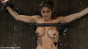 Cute big tits chick is chained and suspe - XXX Dessert - Picture 10