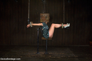 Hot bondage with tied tits and wrapped u - XXX Dessert - Picture 3