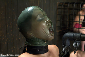 Hot bondage with tied tits and wrapped u - XXX Dessert - Picture 9