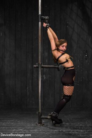 Painful strapping and suspension as hot  - XXX Dessert - Picture 2
