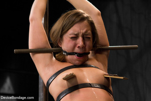 Painful strapping and suspension as hot  - XXX Dessert - Picture 4