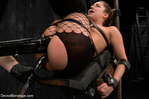 Painful strapping and suspension as hot  - XXX Dessert - Picture 9