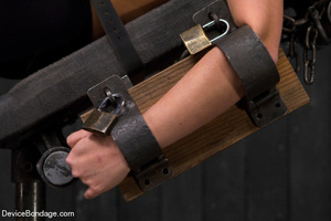 Painful strapping and suspension as hot  - XXX Dessert - Picture 10