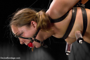 Painful strapping and suspension as hot  - XXX Dessert - Picture 12