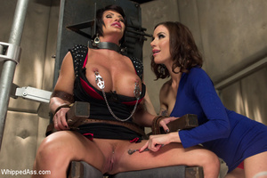 Sweet tits chick chained, spanked and se - Picture 3