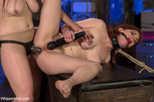 Two cute girls get dominated by sexy bab - XXX Dessert - Picture 14