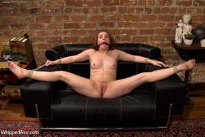Cute girl gets tied, boxed, caned and ma - XXX Dessert - Picture 4