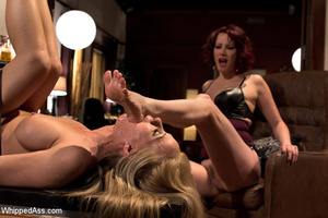 Office boss strips maid, spank and makes - XXX Dessert - Picture 13