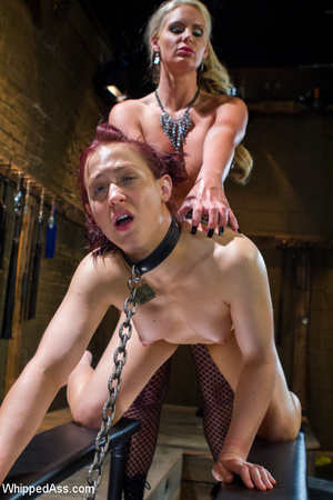 Lusty bond ties up slim chick, spank but - XXX Dessert - Picture 8
