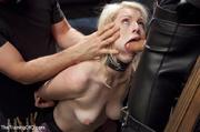sexy blonde slave made